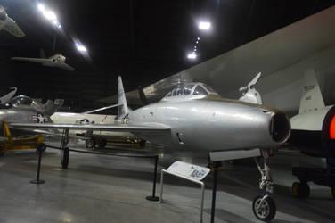 Republic YRF-84F FICON by CoastGuardBrony1