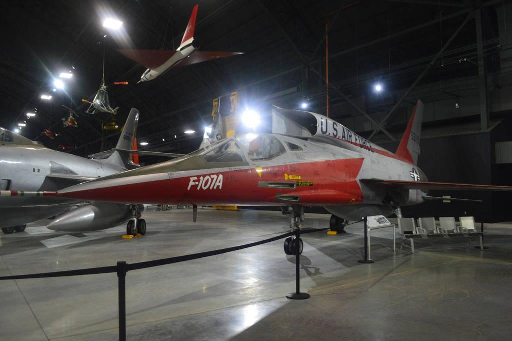 North American F-107A by CoastGuardBrony1