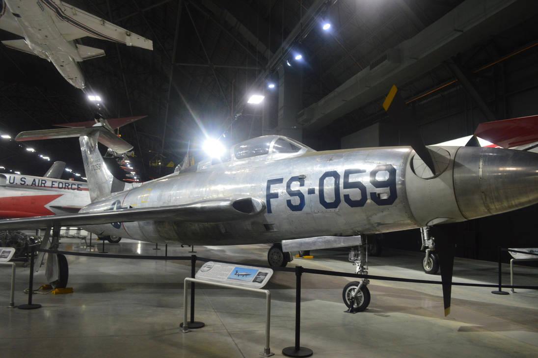 Republic XF-84H by CoastGuardBrony1