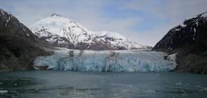 Alaskan glacier by mineskinz