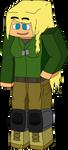 Minecraft Military Girl WIP by mineskinz