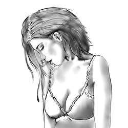 Practice sketch by nekosenpai112