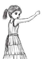 Study sketch character 1 by nekosenpai112