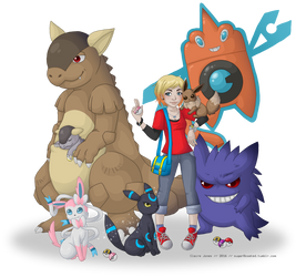 Self Pokemon Trainer Group by sugar0coated