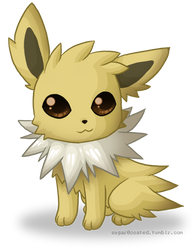 Jolteon by sugar0coated