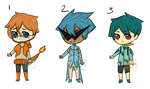 Pokemon Gijinka Batch 2 - [CHEAP SB 100! 3/3 OPEN] by edgelord-adopts