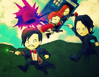 Doctor Who x Harry Potter by JNL