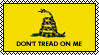 Gadsden Flag stamp by picturefragments