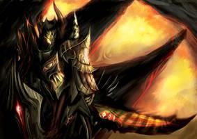 Astaroth - The Hell Knight by leonart87