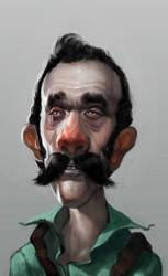 Luigi by Robotpencil