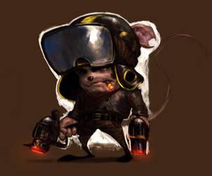 Rat Bastard by Robotpencil