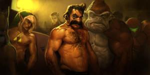 Smash Bros. by Robotpencil