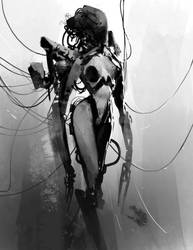 Pinned Lady bot by Robotpencil