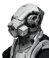 Mech Head by Robotpencil
