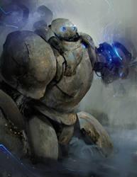 Blitzcrank by Robotpencil