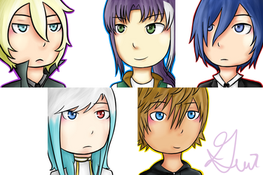 Icon Family 01 by Gennykins