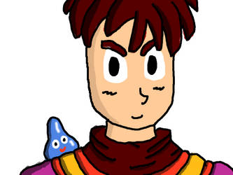 Another DQ9 Hero drawing by DragonQuestWes