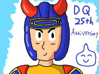 Dragon Quest 25th Anniversary by DragonQuestWes