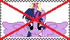 Anti Princess Twilight Sparkle Stamp by da-stamps-45212