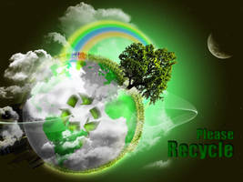Please Recycle by Ryan-Holl
