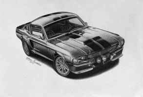 1967 Mustang GT500 Eleanor by orhano