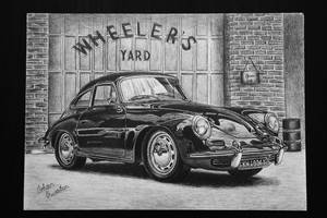 1963 Porsche 356B T-6 Coupe by orhano