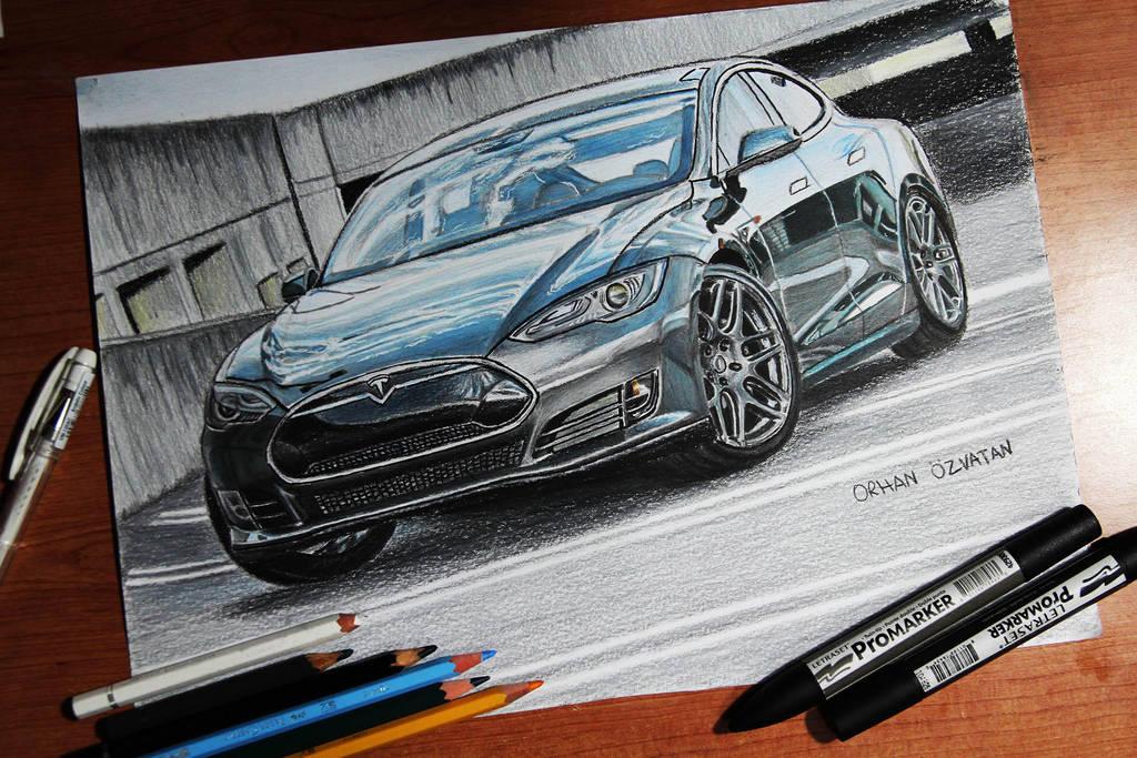 Pubg By Sodano On Deviantart: Tesla Model S P85D By Orhano On DeviantArt