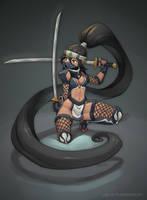 Ibuki - Street Fighter by jaguare19