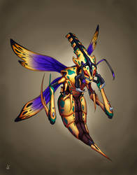 Wasp Concept Color by Gigandas