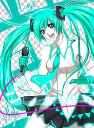 Vocaloid Miku by Eternal-S