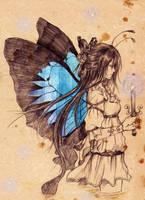 Blue Butterfly by Eternal-S