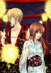 Lantern Matsuri for Blizz by Eternal-S