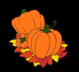 Pumpkins by Gralegio
