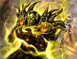 Power Infusion WOW art by TARGETE