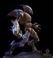 Alien soldier by TARGETE