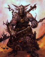 Alien warrior by TARGETE
