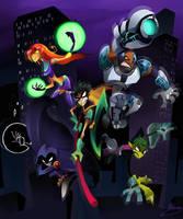 Go Teen Titans by zgul-osr1113