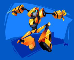 Bumblebee Animated by zgul-osr1113