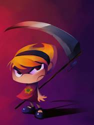 Mandy with scythe by zgul-osr1113