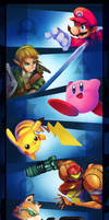 Smash Brothers Veterans.1 by zgul-osr1113