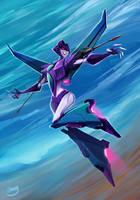 Female Starscream by zgul-osr1113