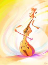 Cello girl by zgul-osr1113