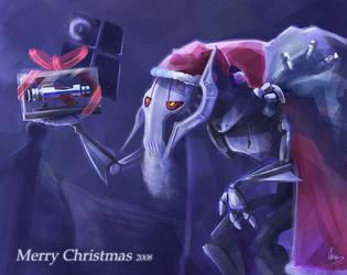 Santa Grievous Merry Xmas by zgul-osr1113