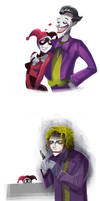 Joker and Joker ...and Harley by zgul-osr1113