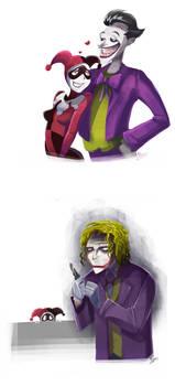 Joker and Joker ...and Harley by zgul-osr1113