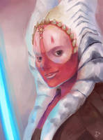 Shaak Ti Painting by zgul-osr1113