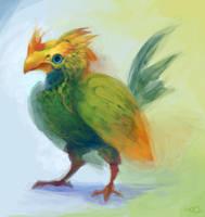 Tropical bird by zgul-osr1113