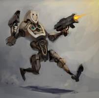 Running Battlebot 2 by zgul-osr1113