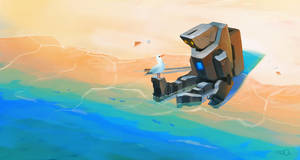 Beach Robot by zgul-osr1113