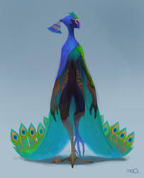 Peacock by zgul-osr1113